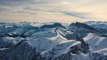 giornata invernale in montagna foto