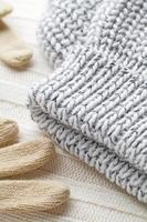 vestiti di lana inverno foto