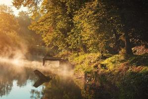 lago d'autunno foto