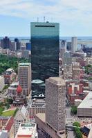 vista aerea di Boston foto