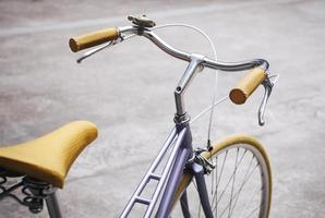 bicicletta vintage hipster foto