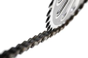 catena per bicicletta foto
