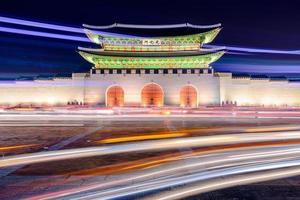 cancello del palazzo di Seoul foto