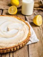 cheesecake al limone deliziosa foto