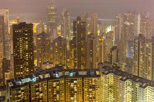 edificio residenziale della classe media a Hong Kong