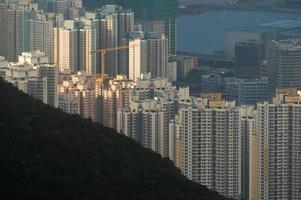affollato paesaggio urbano edificio residente