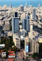 paesaggio urbano di Tel Aviv foto