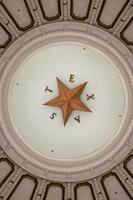 stella solitaria del Texas foto