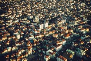 tetti di Istanbul foto