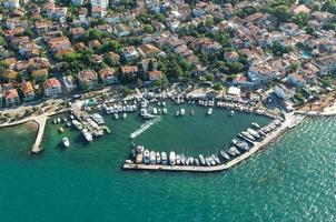 fotografia aerea di Istanbul foto