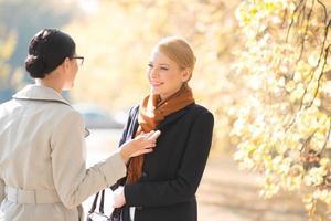 affari all'aperto femminile foto