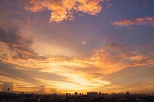 tramonto e alba foto