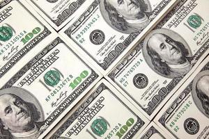 sfondo con i soldi foto