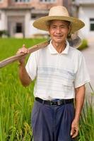 contadino cinese foto