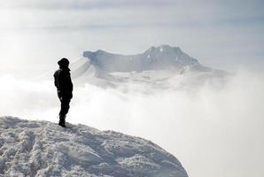 alpinista foto