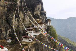 nido di tigre, bhutan foto