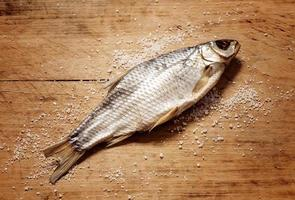 pesce essiccato foto