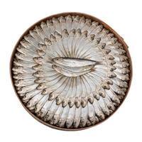 Sardine salate - tracciato di ritaglio foto