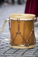 strumento a percussione tradizionale in legno argentino foto