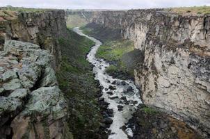 canyon del fiume Snake foto
