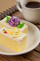 torta di fiori foto