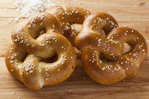 pretzel caldo caldo fatto in casa