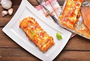 lasagne alla bolognese foto