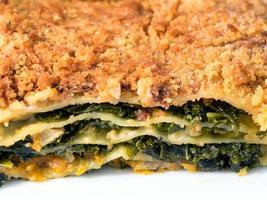 lasagne al cavolo verde, foto