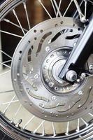 ruota di una moto
