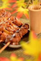 """""""yakitori"""" di pollo alla griglia"""