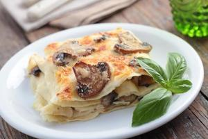 lasagne ai funghi foto