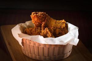 pollo fritto foto