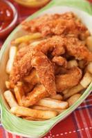 bocconcini di pollo fritto foto