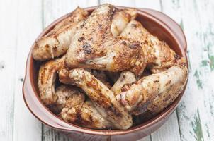 bbq ali di pollo serie 06 foto