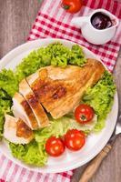 carne di gallina foto