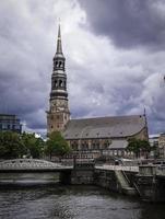 st. la chiesa di Katharinen, Amburgo, Germania foto