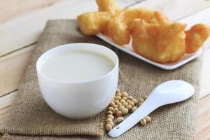 latte di soia foto