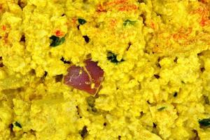 insalata di uova di tofu foto