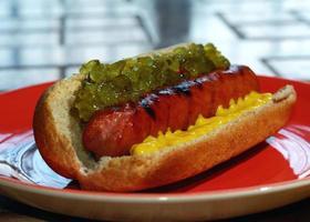 hot dog vestito foto