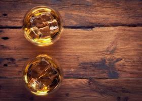 whisky bourbon in un bicchiere