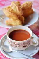 tè al latte foto