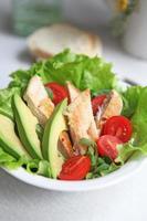 insalata di pollo magro foto