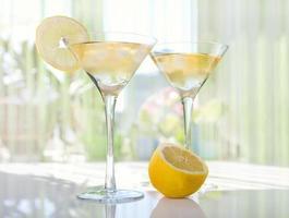 goccia di limone martini foto