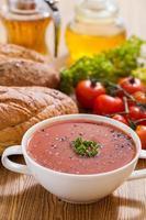 zuppa di pomodoro foto
