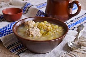 zuppa densa foto