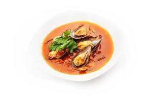 zuppa di cozze foto