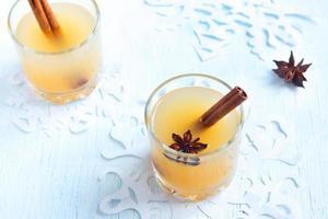 punch al rum di sidro di mele