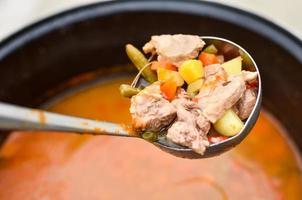 zuppa di gulasch foto