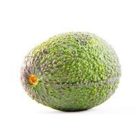 avocado isolato su bianco foto