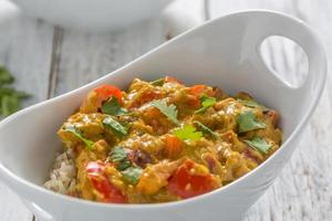 pollo al curry foto